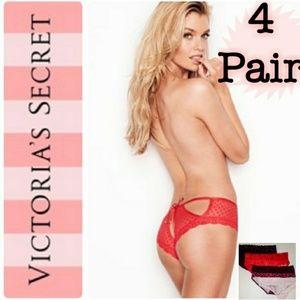🎀 4 Pair of Victoria Secret